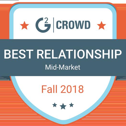 G2Crowd Mid-Market 2018