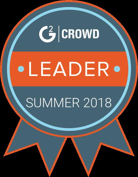 G2Crowd Leader 2018