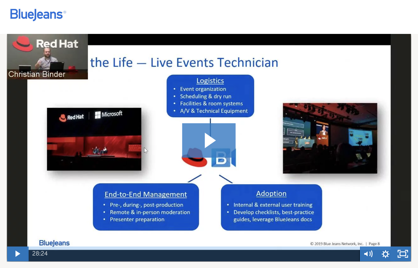 Red Hat Live Events