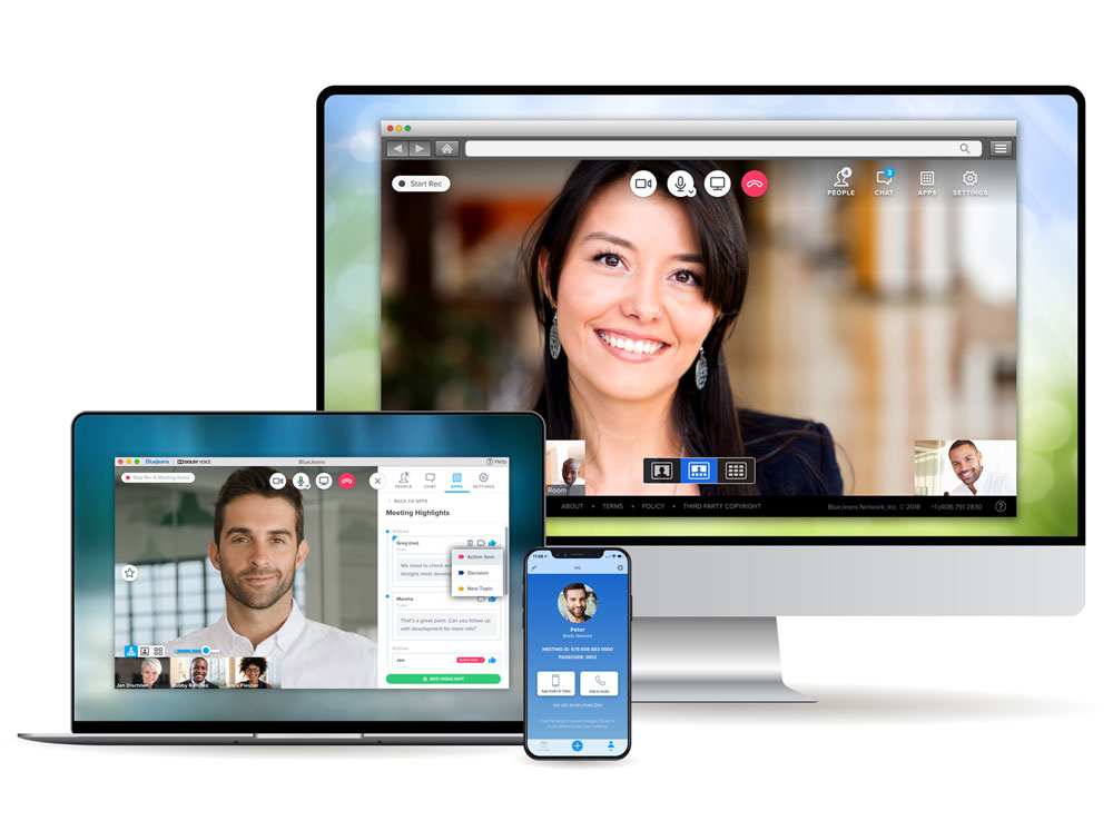 BlueJeans Video Conferencing Interoperability