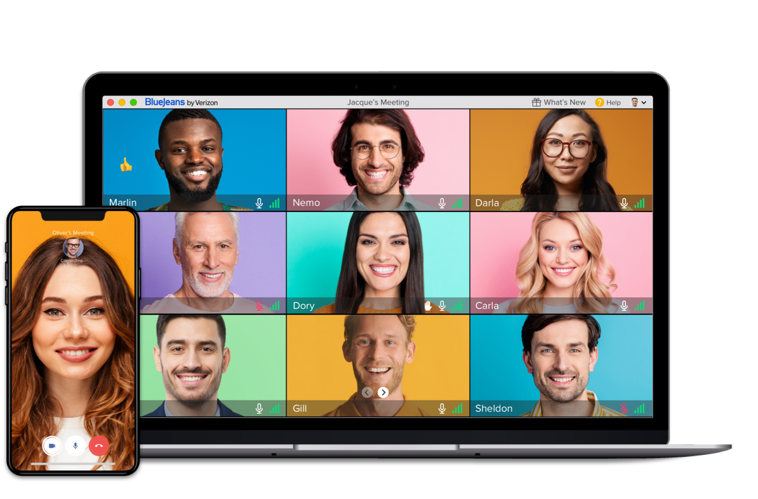 Mobile Video Conferencing Feature