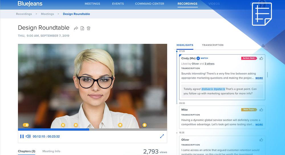 Smart Meetings Datasheet