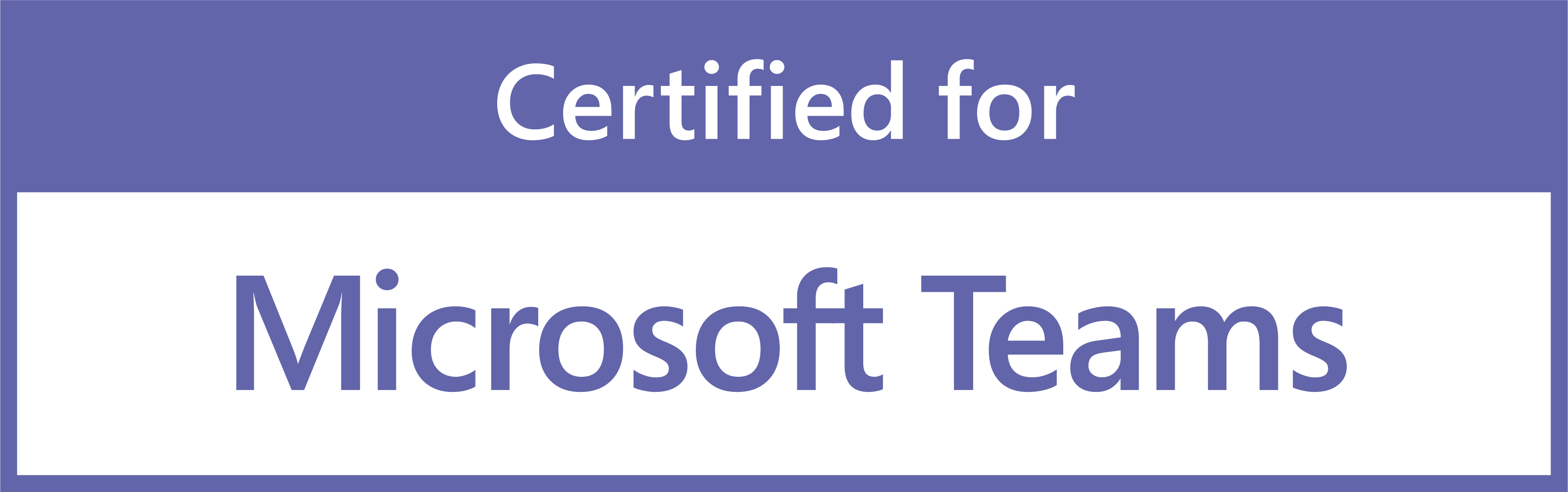 Microsoft Teams Certified