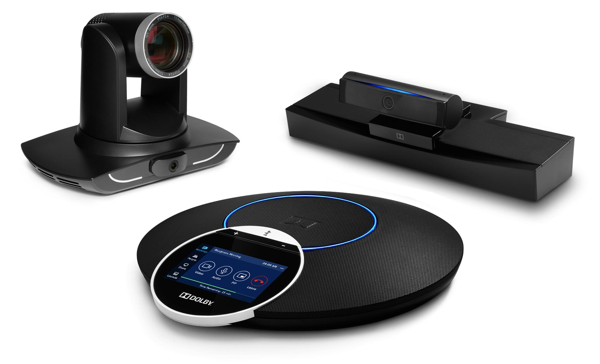 BlueJeans Rooms with Dolby Voice Pro