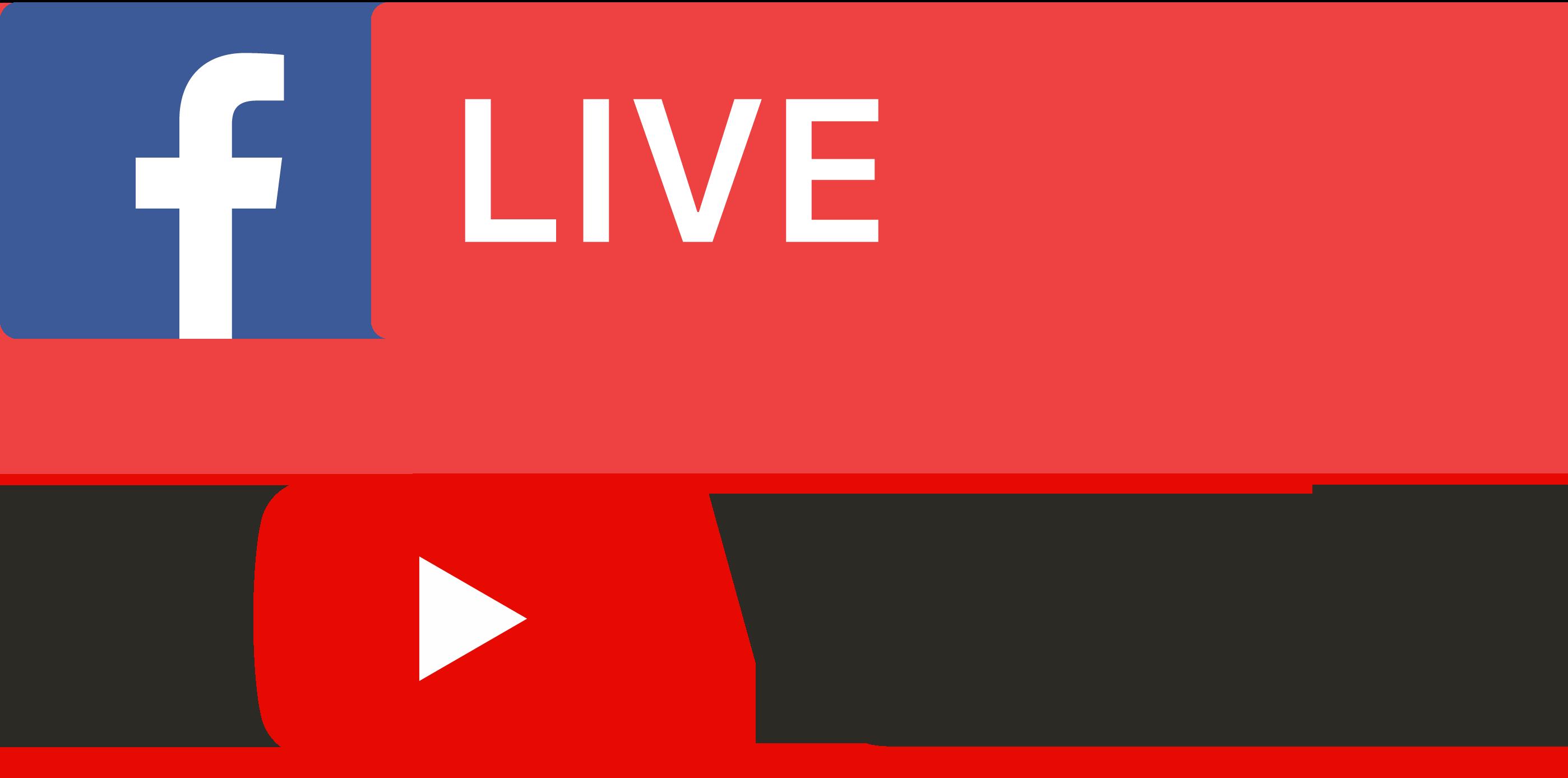 Facebook & YouTube Live